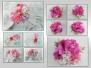 Микс из цветов пеларгоний