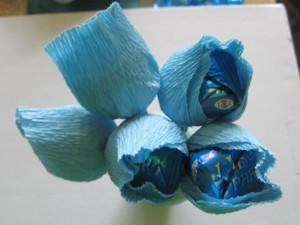 МК Букет из конфет